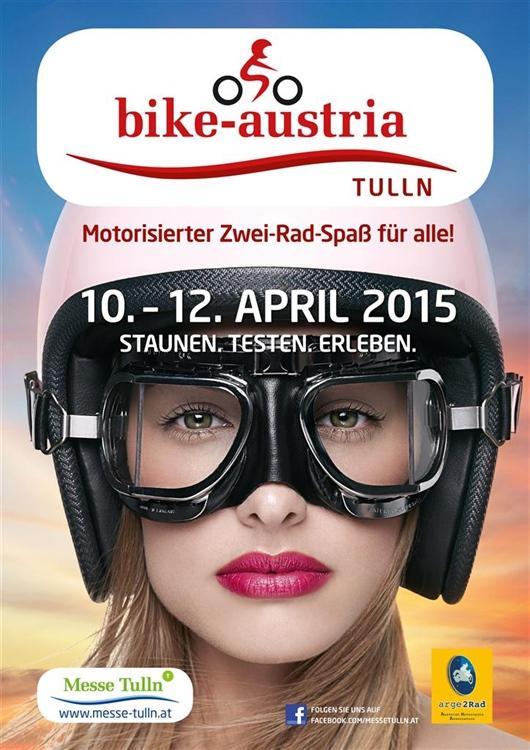 Stroler und Lea auf der bike-austria 2015 von 10. – 12. April in Tulln