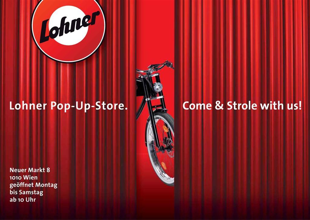 Coming soon – Der erste Lohner Pop-Up-Store. Mehr in Kürze